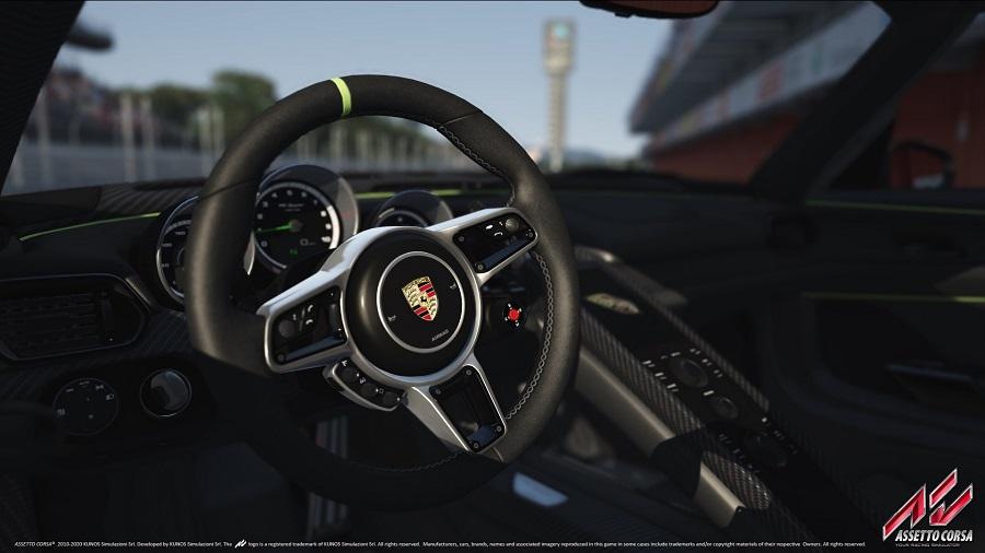 assetto corsa porsche interior cockpit