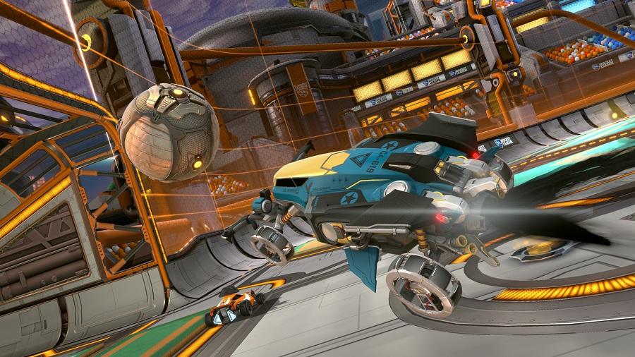 rocket league starbase arc update vulcan battle car
