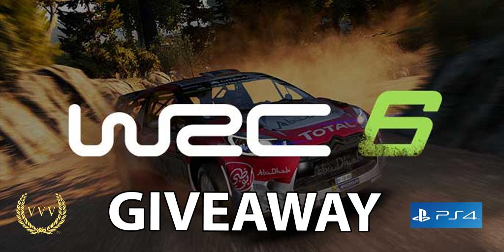 WRC 6 PS4 giveaway