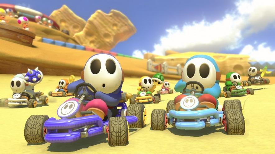 mario kart 8 deluxe screenshots images tracks characters