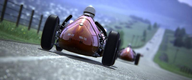 assetti corsa fictional scottish track country road