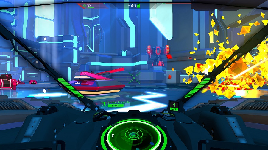 battlezone playstation vr psvr tank cockpit enemy exploding