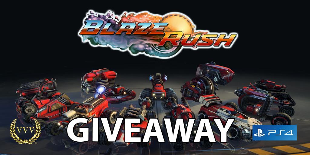 Blaze Rush giveaway