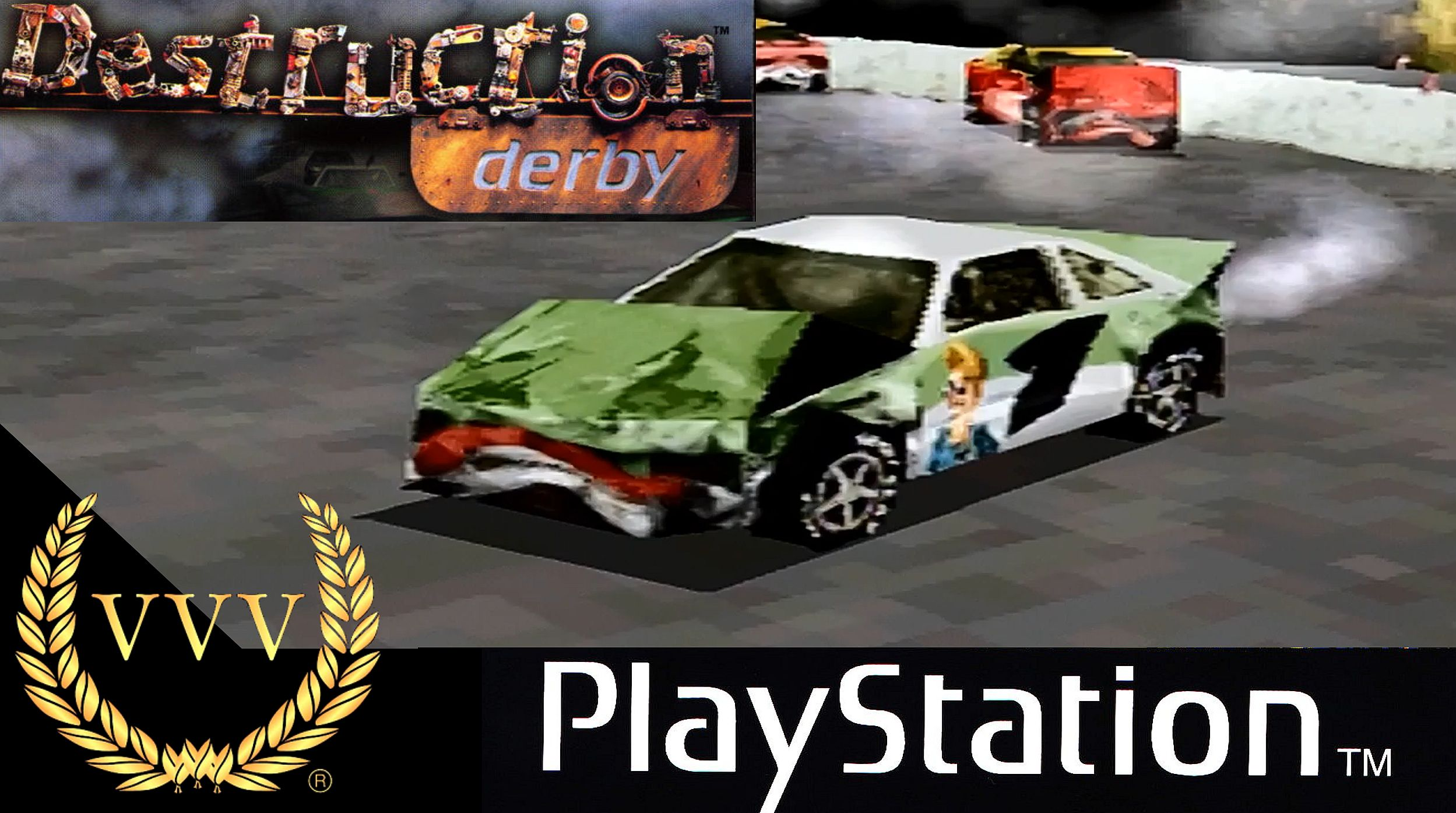 Revisiting the PlayStation 1 classic Destruction Derby