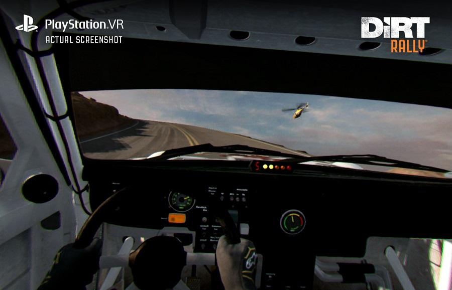 dirt rally psvr playstatiovr vr screenshot image in-game