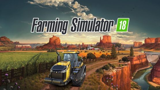 farming simulator 18 vita 3ds ps4 pc xbox one tractor canyon