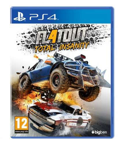 FlatOut 4 PS4 box art