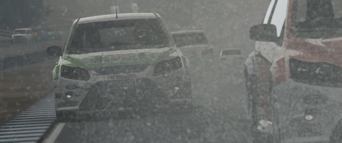 Project CARS 2 snow racing Ford Focus