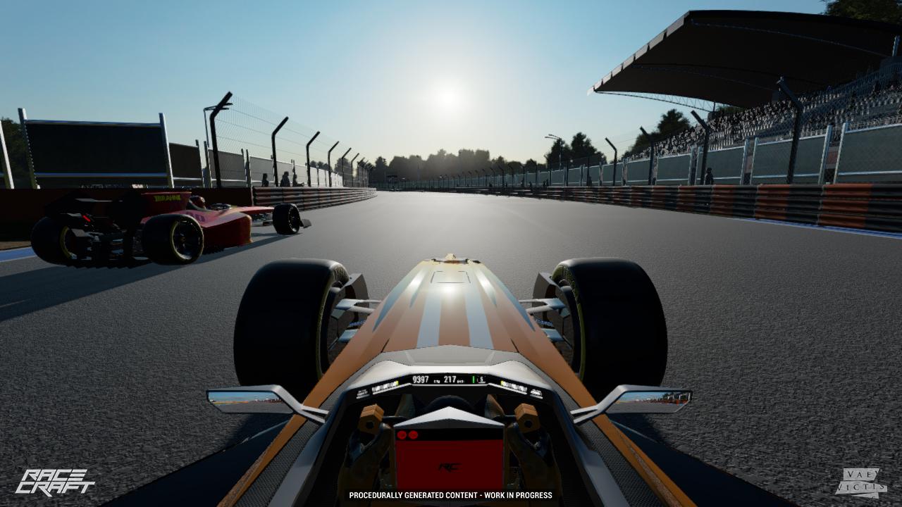 Racecraft quick race AI opponents