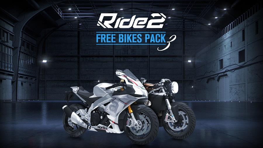 ride 2 free bikes pack 3 Mr Martini Ducati Flashback California Aprilia RSV4 RR