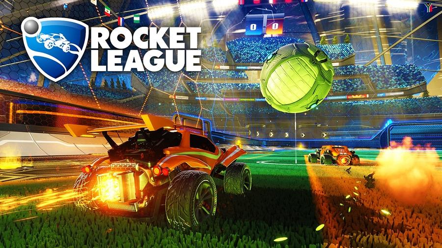 rocket league arena car football indie game psyonix