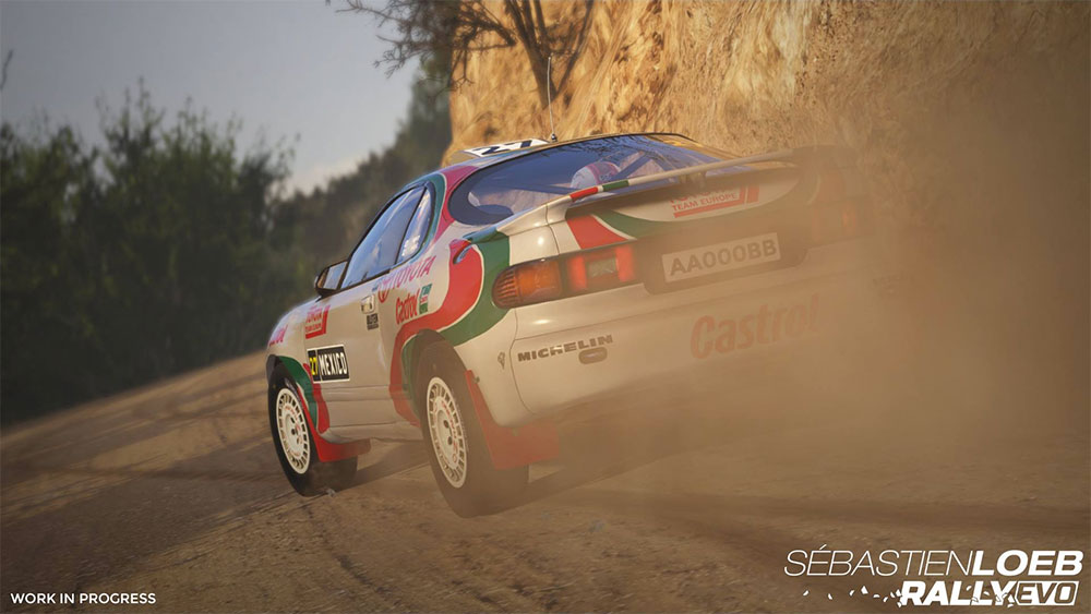 Sebastien Loeb Rally EVO gravel screenshot