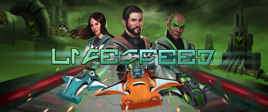 lifespeed art work main banner futuristic racer nintendo 3ds