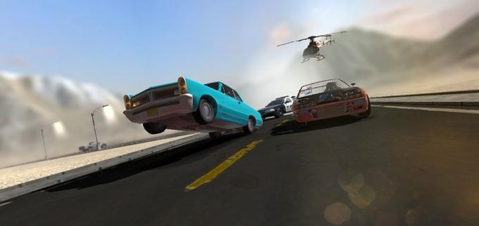 DRIVR open world racing game driving kickstarter pc