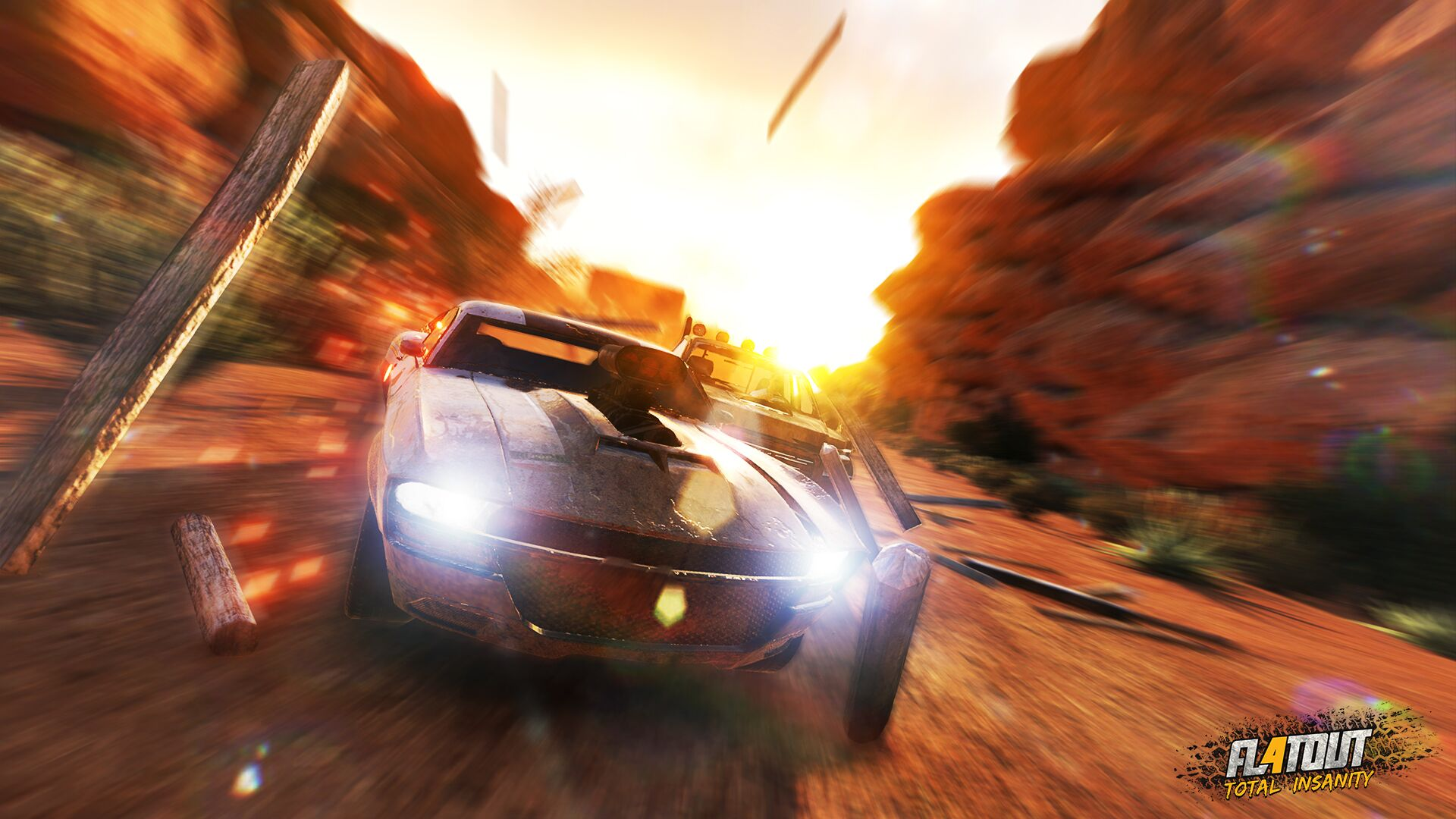 The first FlatOut 4: Total Insanity trailer is here, March 2017 release confirmed