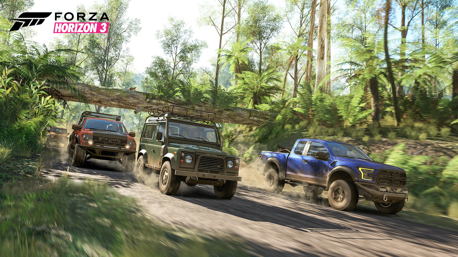 Forza Horizon 3 rainforest screenshto