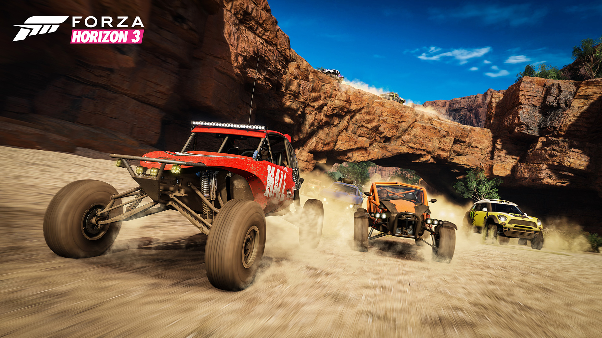 Forza Horizon 3 screenshots buggies