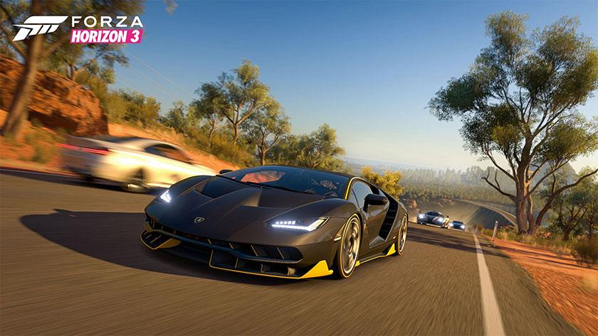 Forza Horizon 3 screenshot Lamborghini Centenario race