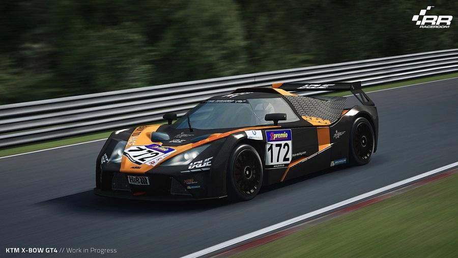 ktm xbow gt4 raceroom racing experience nurburgring nordschleife
