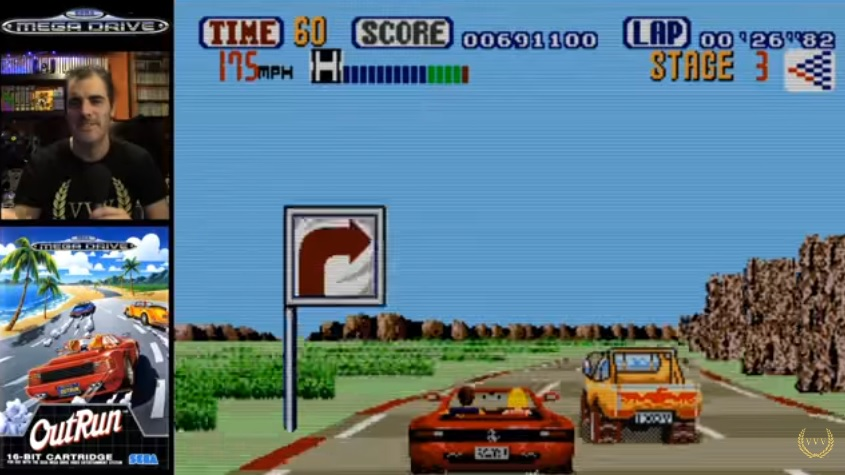 Driving down memory lane with the classic OutRun