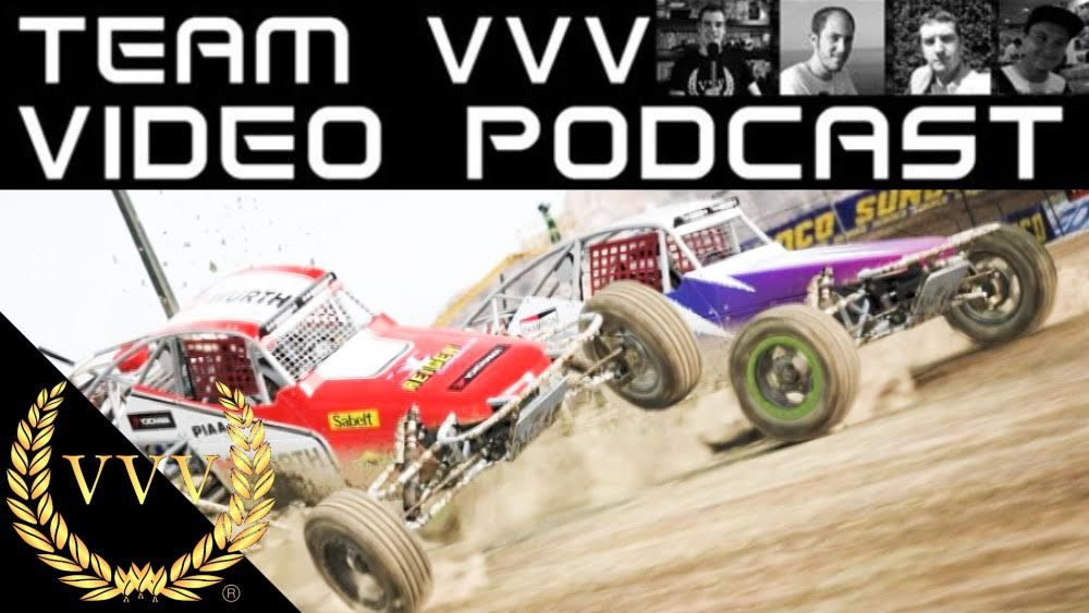 Team VVV Video Podcast 30: DiRT 4, Project CARS 2, MXGP 3
