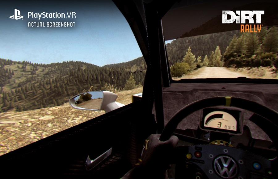 dirt rally psvr playstation vr screenshot vw polo wrc