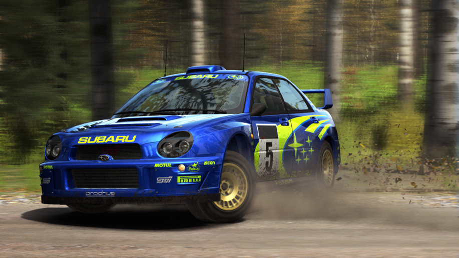 DiRT Rally Subaru Impreza Finland Slide