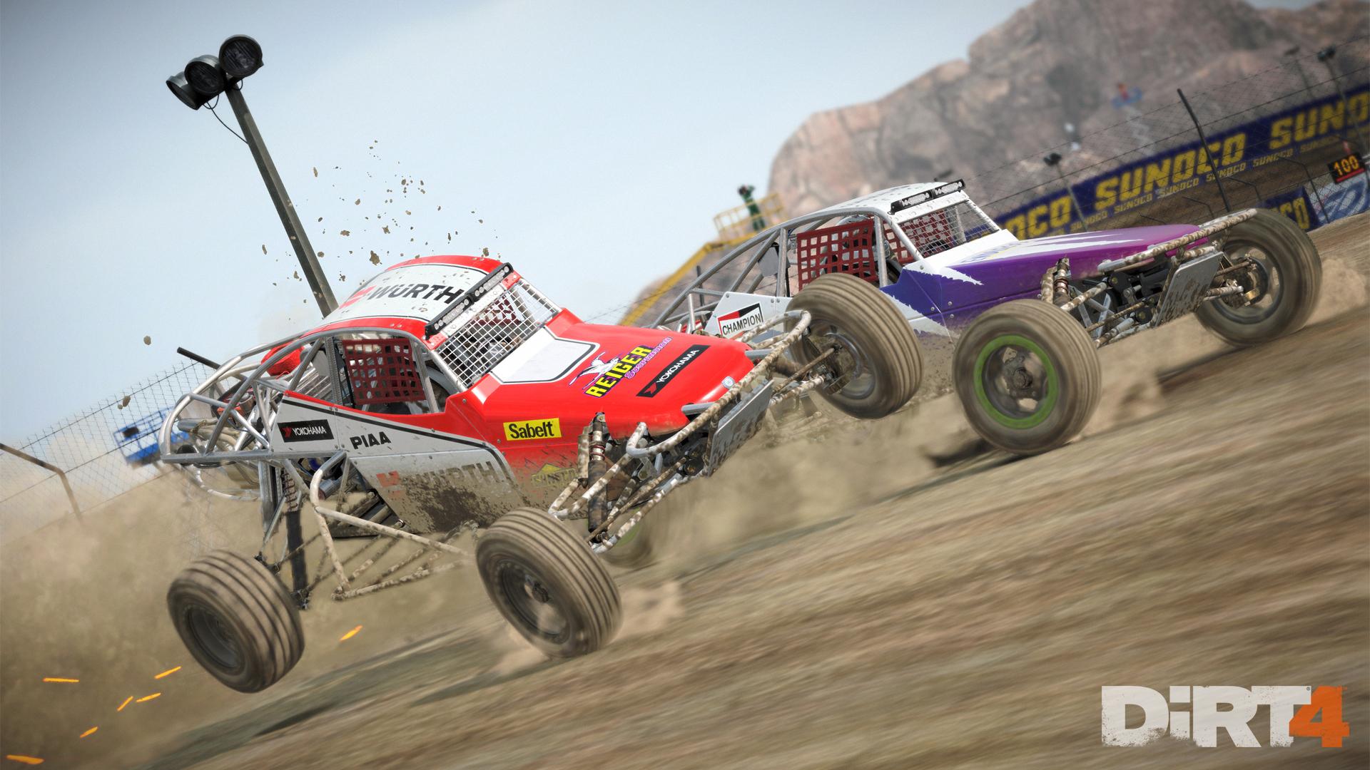 dirt 4 landrush buggy
