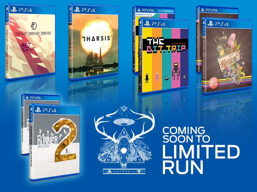Drive!Drive!Drive! physical release artwork Limited Run Games