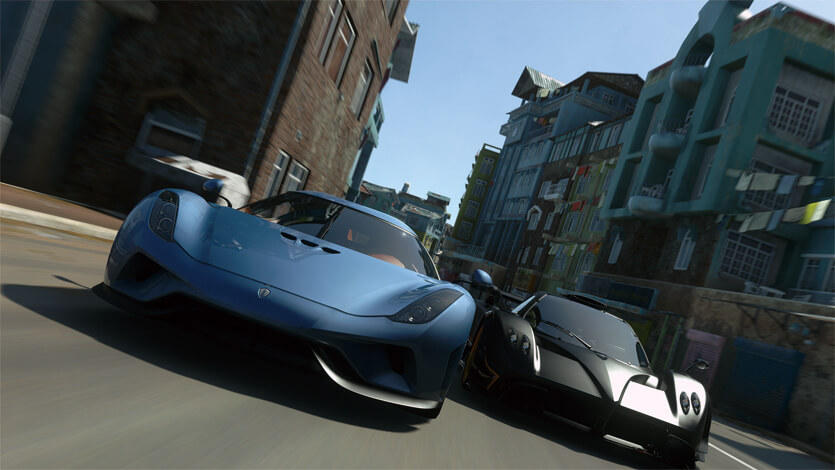 DriveClub VR screenshot city track PS4 PSVR PlayStation VR