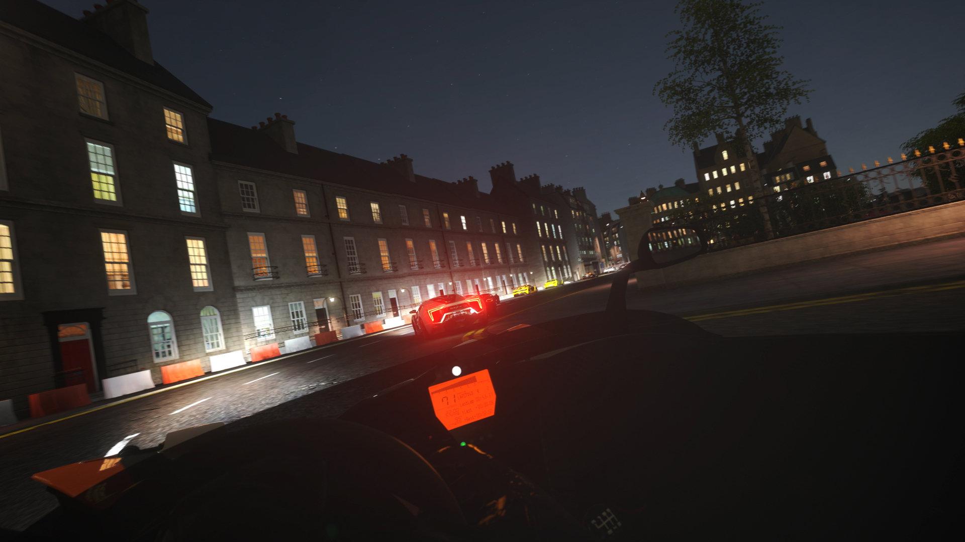 DriveClub VR screenshot night PS4 PSVR PlayStation VR