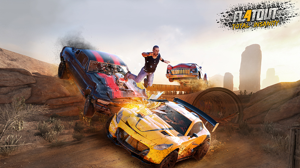 The first FlatOut 4 gameplay trailer is here, coming March 17th