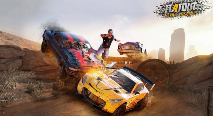Flatout 4: Total Insanity releases for the Xbox One & PS4