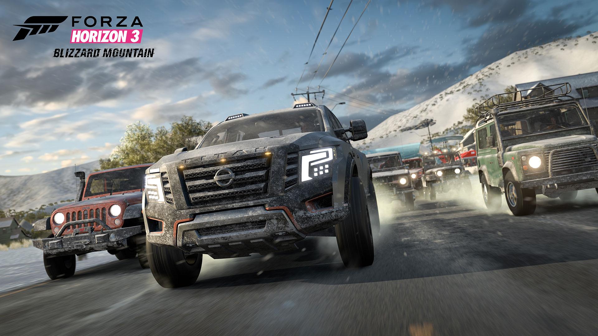 Forza Horizon 3 Blizzard Mountain screenshot 3