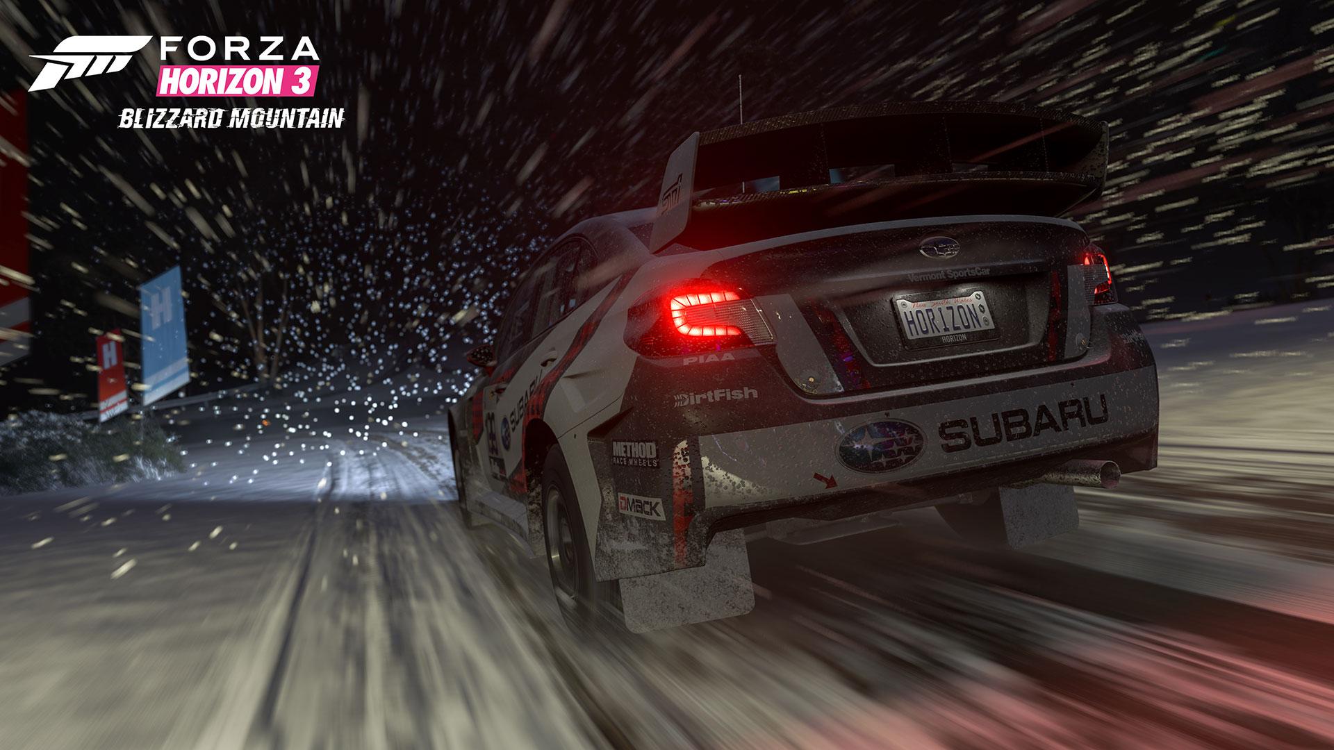 Forza Horizon 3 Blizzard Mountain screenshot 2