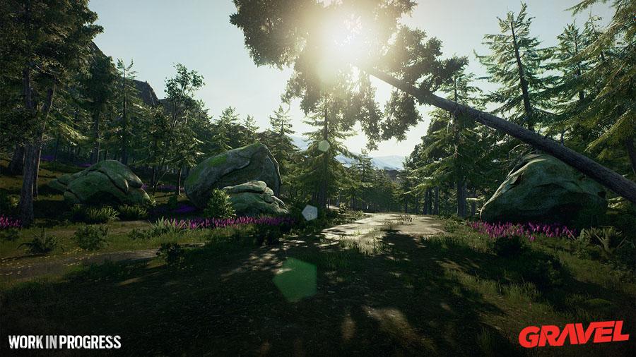 Gravel environment screenshot Unreal 4 Engine
