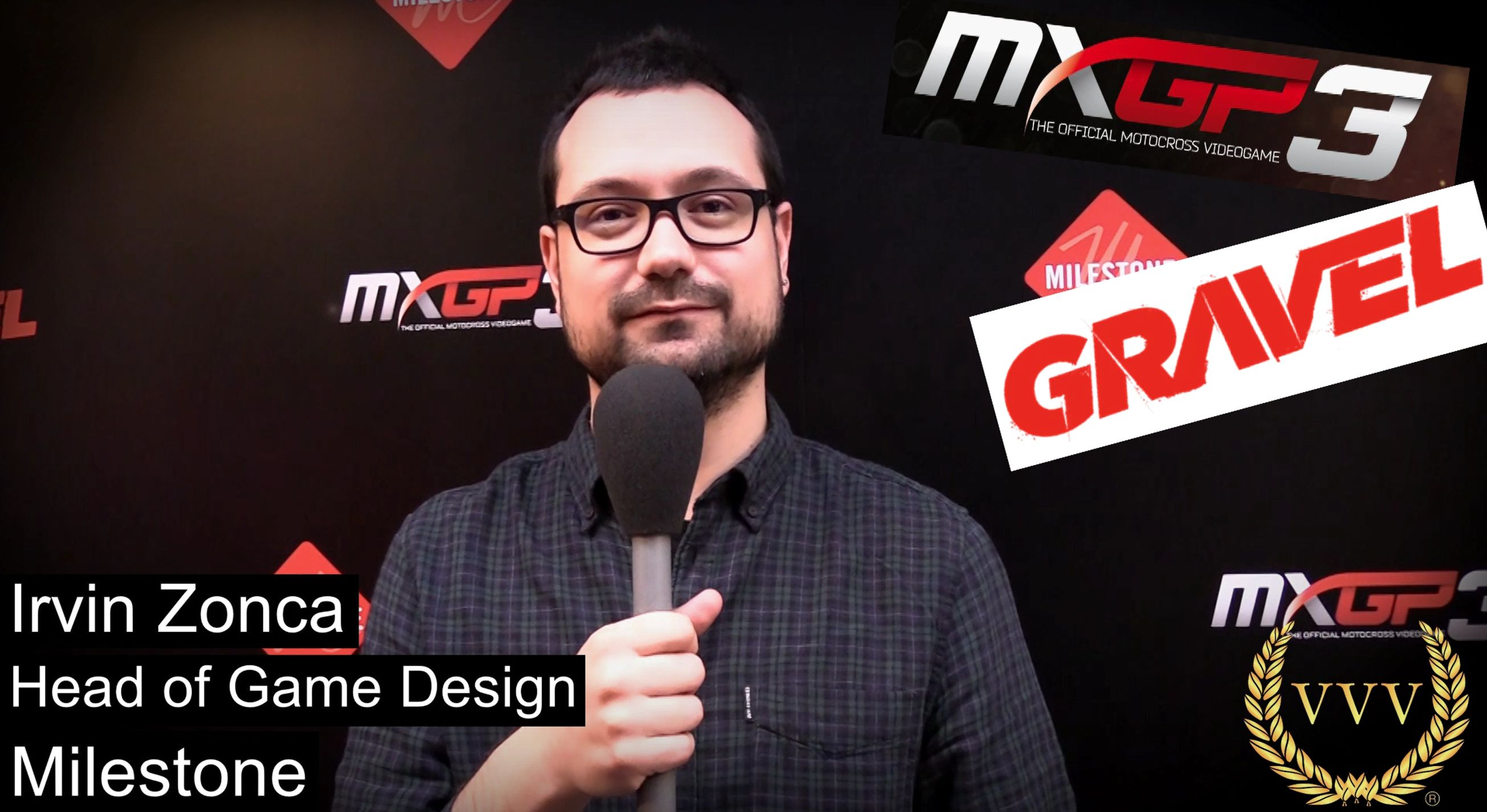 We chat to the head of game design to discuss GRAVEL & MXGP 3