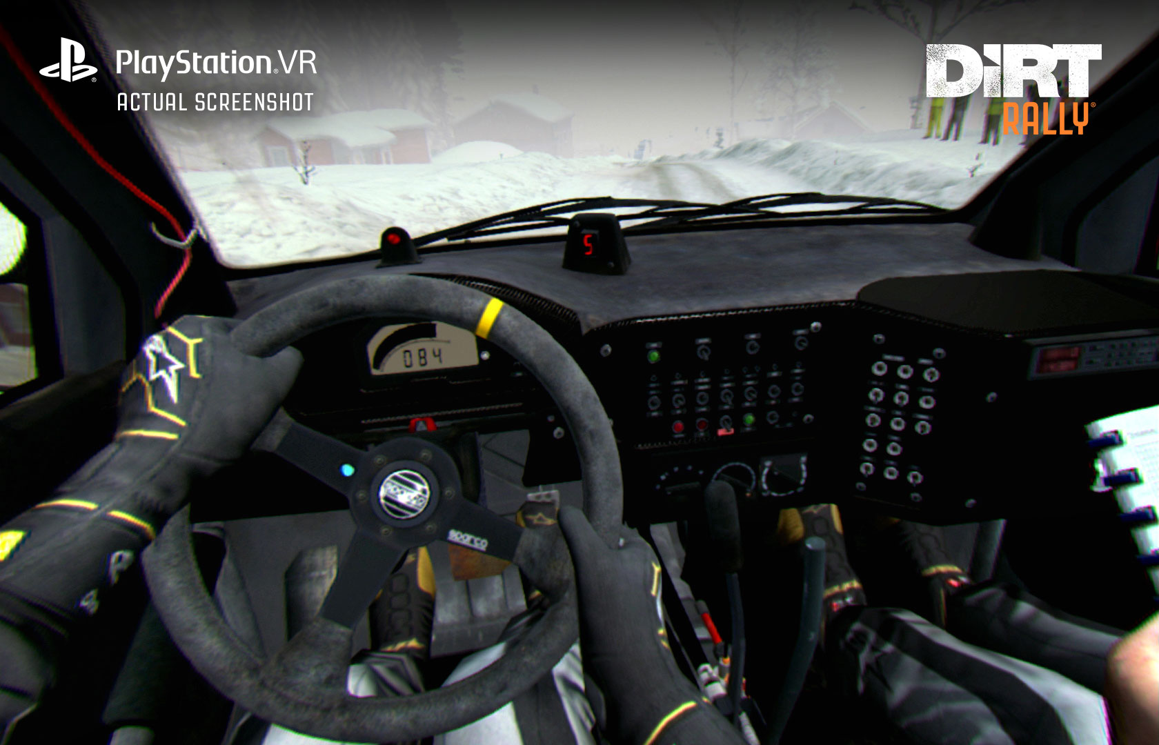 DiRT Rally PSVR screenshot