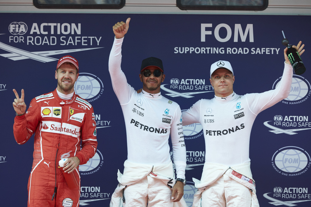 F1 2017 Chinese Grand Prix Qualifying Report