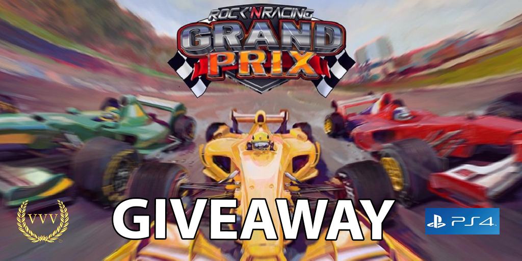 Rock n Racing Grand Prix PS4 competition artwork