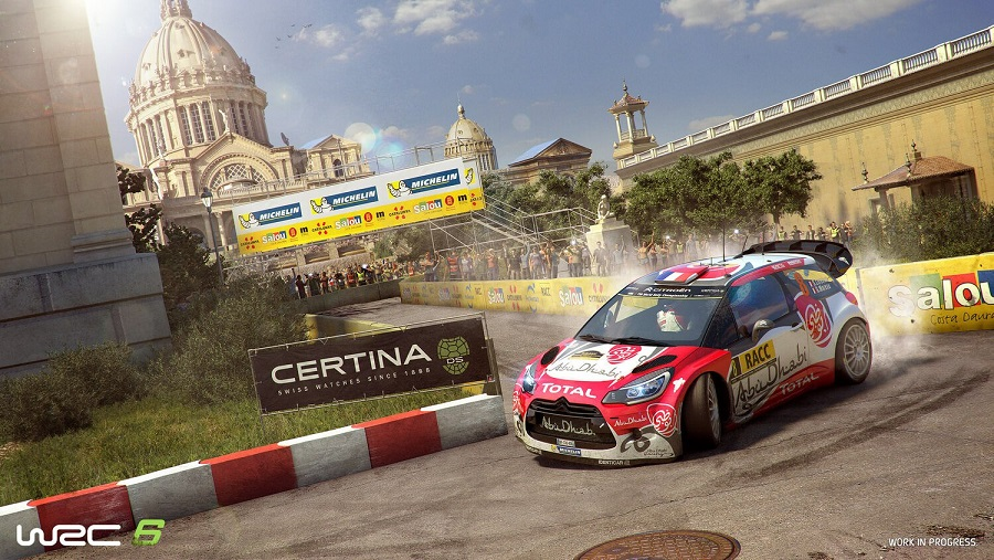 wrc 6 citroen ds3 rally car