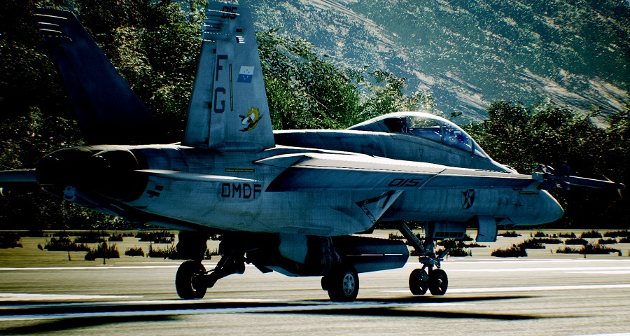 ace combat 7 runway taxi