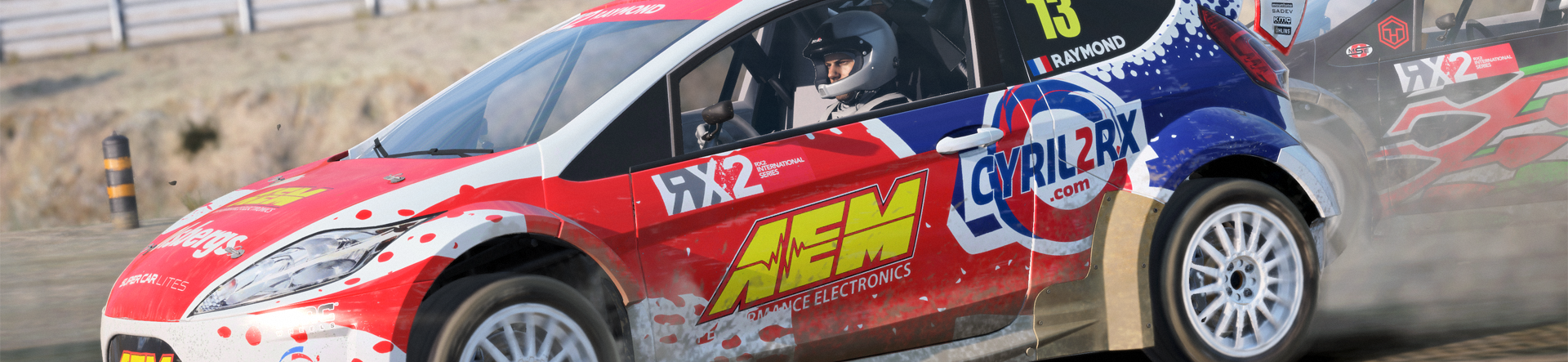 Here's DiRT 4's officially supported racing wheel list