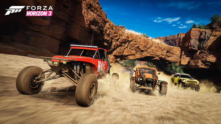 Forza Horizon 3 buggies