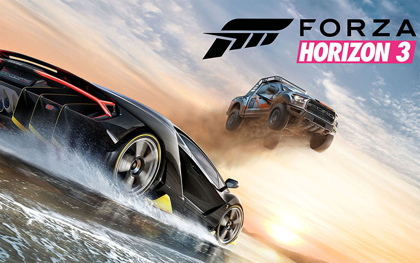 Forza Horizon 3 main artwork Xbox One