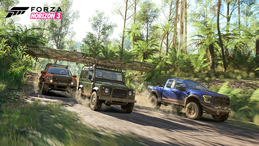 Forza Horizon 3 rainforest