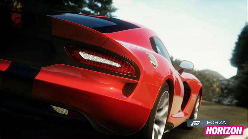 Forza Horizon screenshot SRT Viper
