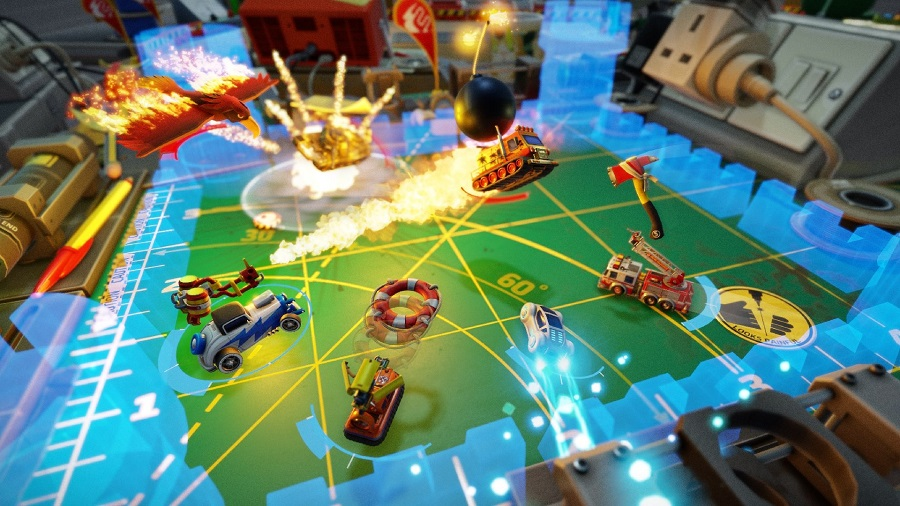 micro machines world series battle mode