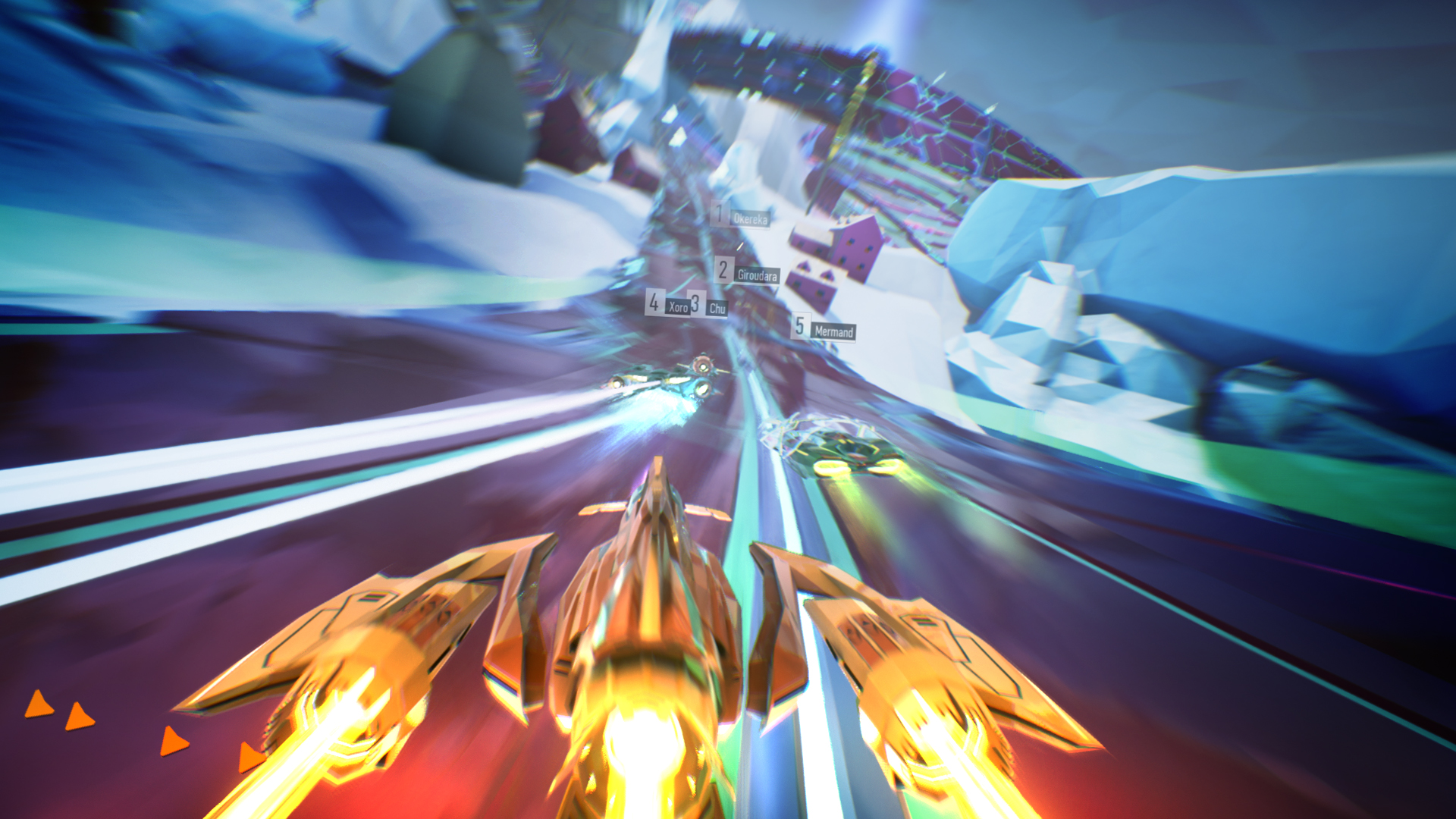 Futuristic racer Redout coming to consoles in August