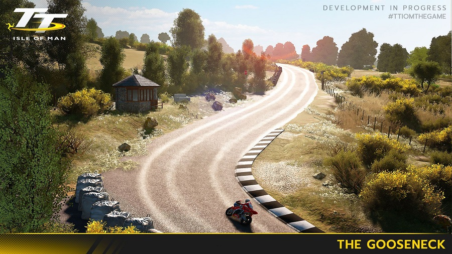 Here's three in-game shots of TT Isle of Man: Ride on the Edge